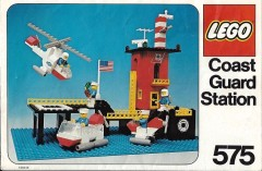 Lego 575 Coast Guard Station