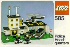 Lego 585 Police Headquarters