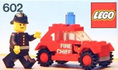 Lego 602 Fire Chief