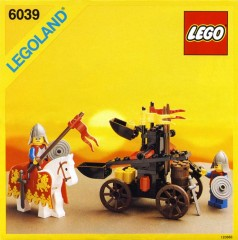 Lego 6039 Twin-Arm Launcher
