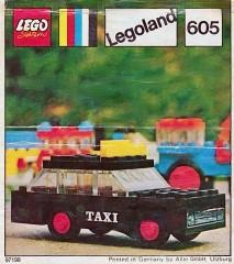 Lego 605 Taxi