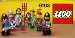 Lego 6103 Castle Mini Figures