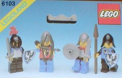 Lego 6103 Castle Figures