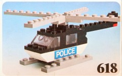 Lego 618 Police Helicopter