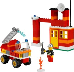 Lego 6191 Fire Fighter Building Set