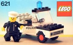 Lego 621 Police Car