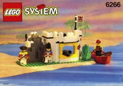 Lego 6266 Cannon Cove