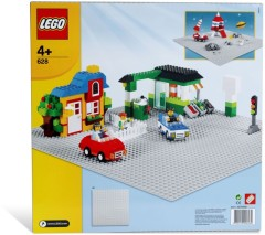 Lego 628 X-Large Baseplate Grey