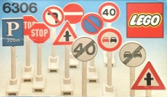 Lego 6306 Road Signs
