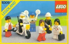 Lego 6309 Town Mini-Figures