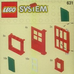Lego 631 Doors and Windows