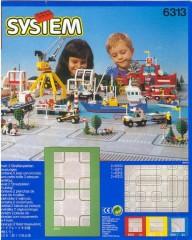 Lego 6313 Road Plates, Cross