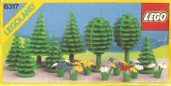Lego 6317 Trees and Flowers
