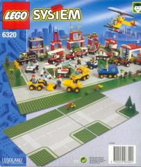 Lego 6320 Road Plates, Junction