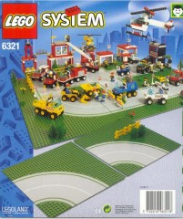 Lego 6321 Road Plates, Curved
