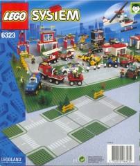 Lego 6323 Road Plates, Cross