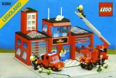 Lego 6385 Fire House-I