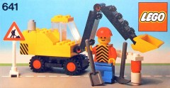 Lego 641 Excavator