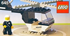 Lego 645 Police Helicopter