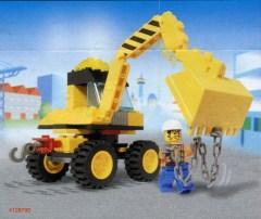 Digger Bucket 7 Teeth 3 x 6 Locking 2 Finger Hinge 1 NEW LEGO Dark Tan Vehicle
