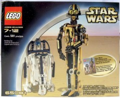 Lego 65081 R2-D2 / C-3PO Droid Collectors Set