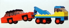 Lego 651 Tow Truck and Car