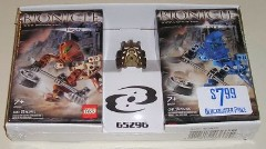 Lego 65296 Bionicle twin-pack with gold mask