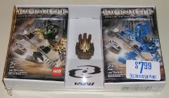 Lego 65297 Bionicle twin-pack with gold mask