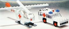 Lego 653 Ambulance and Helicopter
