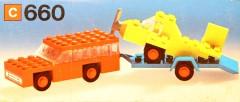 Lego 660 Air Transporter