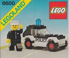 Lego 6600 Police Patrol