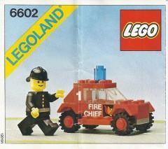 Lego 6602 Fire Unit I