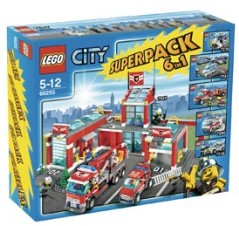 Lego 66255 City Emergency Services Value Pack