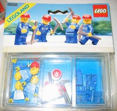 Lego 6628 Construction Workers