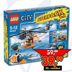 Lego 66306 City Super Pack 3 in 1