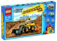 Lego 66328 City Super Pack 6 in 1