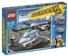 Lego 66329 City Super Pack 3 in 1