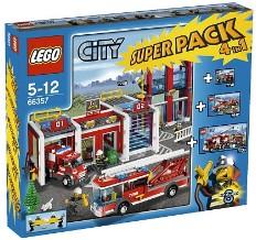 Lego 66357 City Super Pack 4 in 1