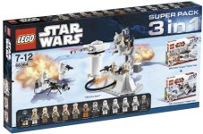Lego 66364 Star Wars Super Pack 3 in 1
