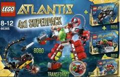 Lego 66365 Atlantis Super Pack 4 in 1
