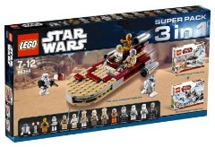 Lego 66368 Star Wars Super Pack 3 in 1