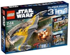 Lego 66396 Star Wars Super Pack 3 in 1