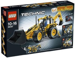 Lego 66397 Technic Super Pack 4 in 1