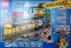 Lego 66405 City Trains Super Pack 4-in-1
