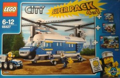 Lego 66427 City Police Super Pack 4-in-1