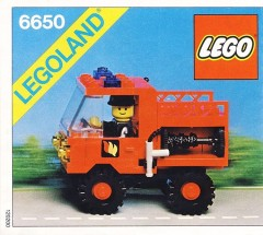 Lego 6650 Fire and Rescue Van