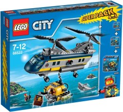 Lego 66522 Deep Sea Explorers Super Pack 4-in-1