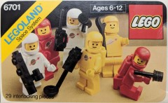 Lego 6701 Minifig Pack