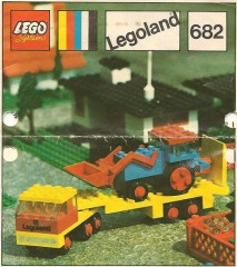 Lego 682 Low-Loader and Tractor