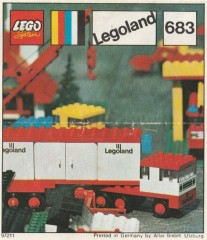 Lego 683 Articulated Lorry